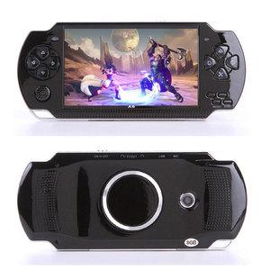 Image 2 - Elde kullanılır oyun konsolu 4.3 inç ekran mp4 çalar MP5 oyun oyuncu gerçek 8GB desteği 8Bit 16bit 32bit oyunları, kamera, video, e kitap