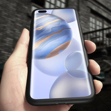 Luxury 360 Full Cover Matte Hard PC Phone Case For Huawei Honor 20 10 9 P40 P30 P20 Lite Mate 30 20 Pro Ultra-thin Frosted Coque(China)