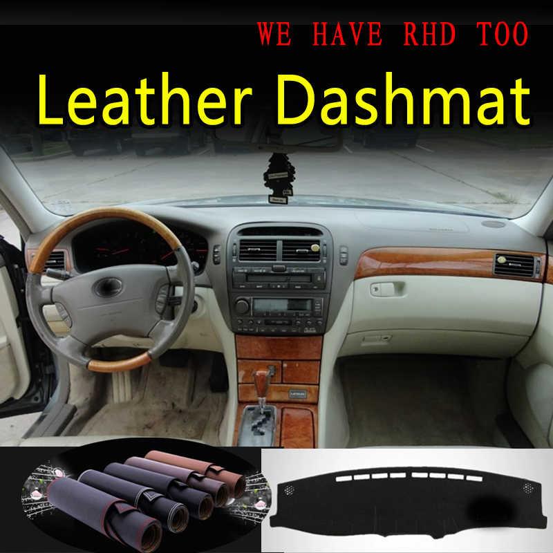 DashMat Original Dashboard Cover Lexus LS430 Premium Carpet, Black