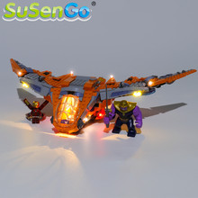 цена на SuSenGo LED Light kit For Thanos: Ultimate Battle Toys Building Blocks Lighting Set Compatible with 76107 (Model Not Included)