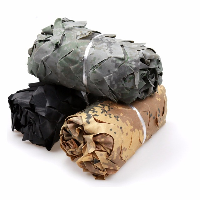 1 5M Width Camouflage net Gazebos Camo Military Army Car Cover Oxford Outdoor Camping Hiking Sunshade