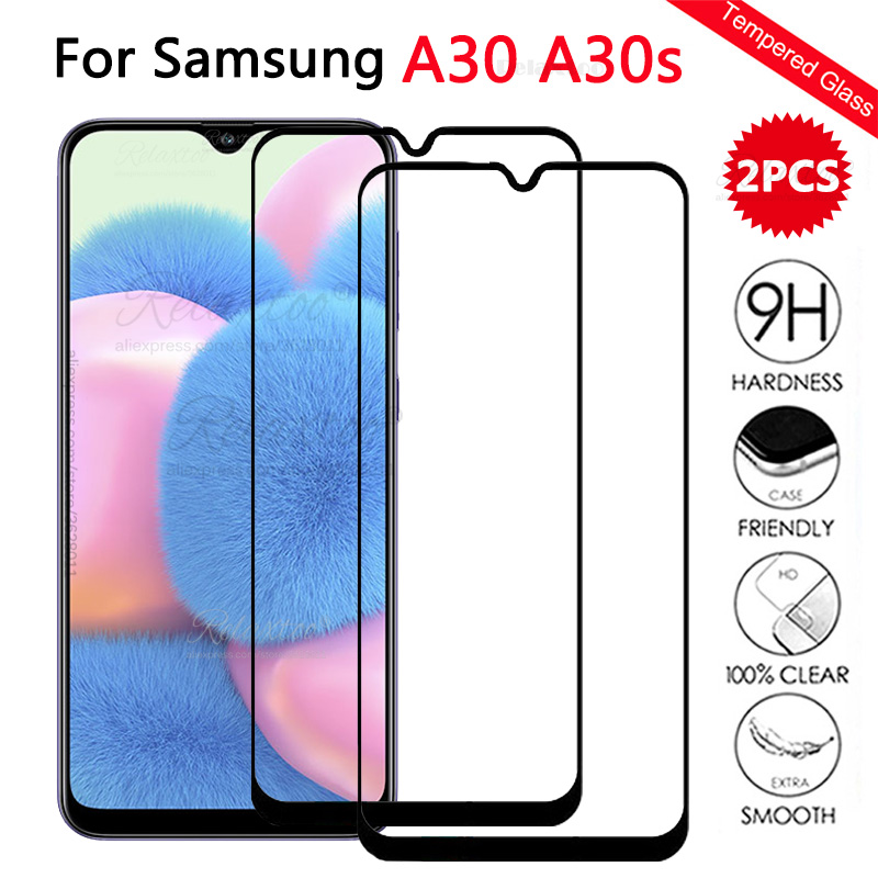 2pcs Tempered Glass For Samsung A30s A307f A30 A305f On The Screen Protector For Galaxy A 30s 30 S Protective Film Touch Glas 9h