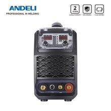 ANDELI máquina de soldadura TIG multifuncional, TIG 250GPLC inteligente, frío, pulso, limpieza, inteligente, au ag