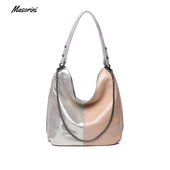 Bags for Women 2020 Luxury Fashion Women Shoulder Bag Pu Ladies 2020 Patchwork Totes Female Luxury Handbags Women Bags Designer