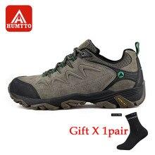 Humtto男性ハイキングシューズノンスリップ耐摩耗性登山靴の冬の旅行快適なビッグサイズのギフト靴下