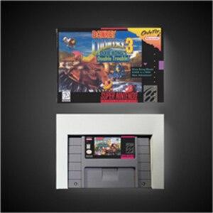 Image 1 - Donkey Kong Country 3 ¡problemas dobles de Dixie Kong!  Tarjeta de juego batería RPG guardar versión US caja de venta al por menor
