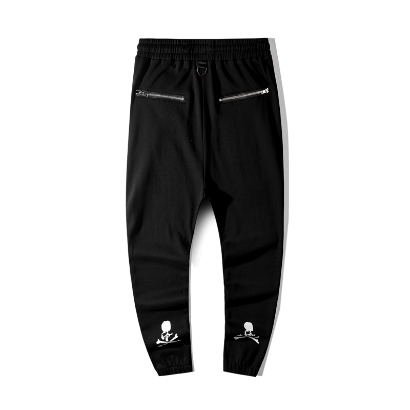 2019 New Japan Mastermind MMJ Sweatpants Men Women Side Zipper Hip Hop Mastermind Joggers Pants Streetwear Harajuku MMJ Pants