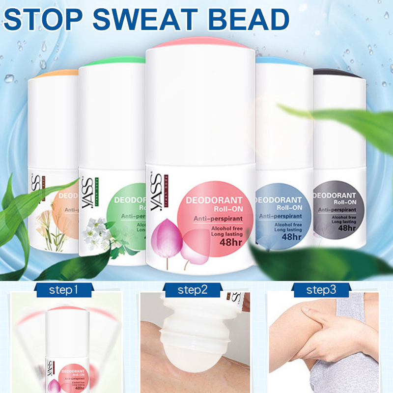 Body Antiperspirants Underarm Deodorant Bottle Anti-Sweat For Man Women KG66