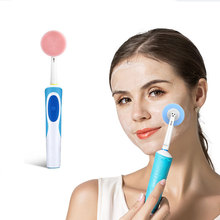Replacement-Brush-Heads Electric-Toothbrush Oral-B Cleansing-Head for Face-Skin-Care-Tools