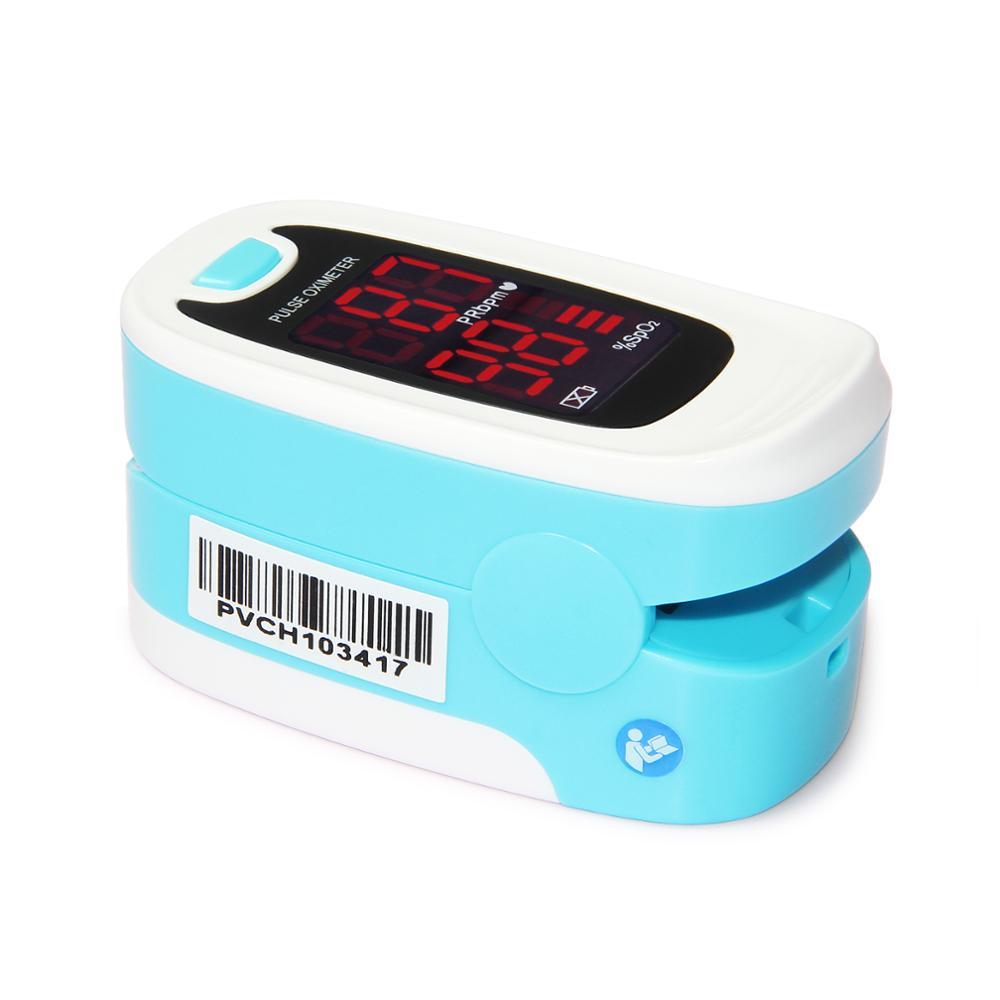 10 шт. CMS50M1 пальцевой пульсоксиметр с кончиком пальца с футляром оксиметр de pulso de dedo светодиодный Пульсоксиметр Сатуратор пульсиоксиметр - 4