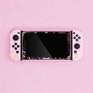 Image 3 - מקרה עבור מתג Nintendo NS שמחה קון מגן כיסוי מסך מגן סרט
