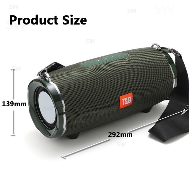 Bluetooth Speaker TG187 High Power 50W  Speakers Subwoofer Boom Box 6