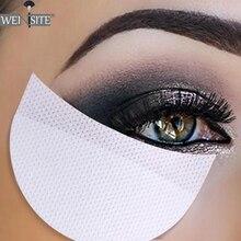 10/20/50 пар тени для век одноразовые наращивание ресниц нетканый коллаген наклейка для глаз на заказ в соответствии с век изоляции Стикеры прокладка