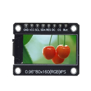 Image 2 - TZT TFT Display 0.96 / 1.3 inch IPS 7P SPI HD 65K Full Color LCD Module ST7735 Drive IC 80*160 (Not OLED) For Arduino