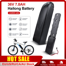 E-bike HaiLong Battery 36V 7.8Ah For Electric Bicycle Rechargeable Li-ion Battery Battery