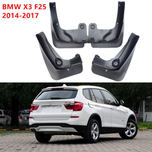 Mud Flaps Front&Rear Mudguards Splash Guards Car Fenders For BMW X3 2014-2017 F25