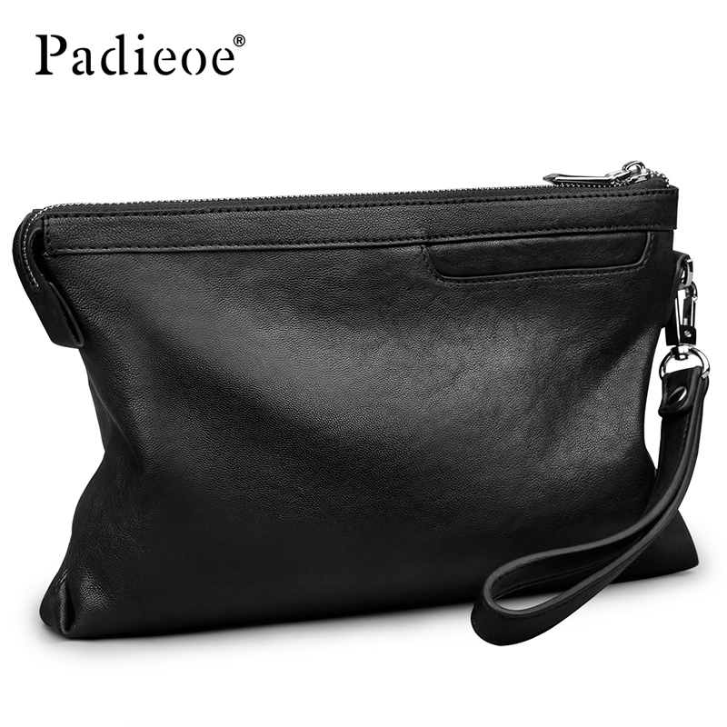 Padieoe men wallets purses luxury money bag clutch fashion Simple - 5