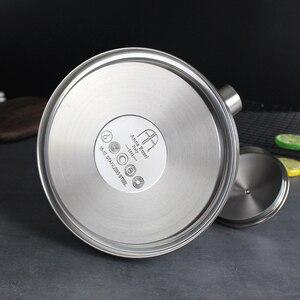 Image 3 - 3L Stahl Wasser Kochen Wasserkocher 304 Pfeife Wird Kapazität Kochendem Wasser Wasserkocher Haushalt Flachen Boden Kohle Gas Elektromagnetische Ofen