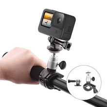 Bike Motorcycle Handlebar Mount Quick Release Handle Clamp for Gopro Hero 9 Camera Metal Fixed Mount Stand Bracket Accessories