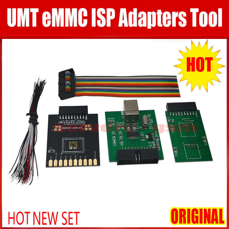 2020 NEUE ORIGINAL UMT eMMC ISP Adapter Werkzeug 5 in 1 für UMT DONGLE/UMT PRO DONGLE/UMT PRO BOX/NCK PRO