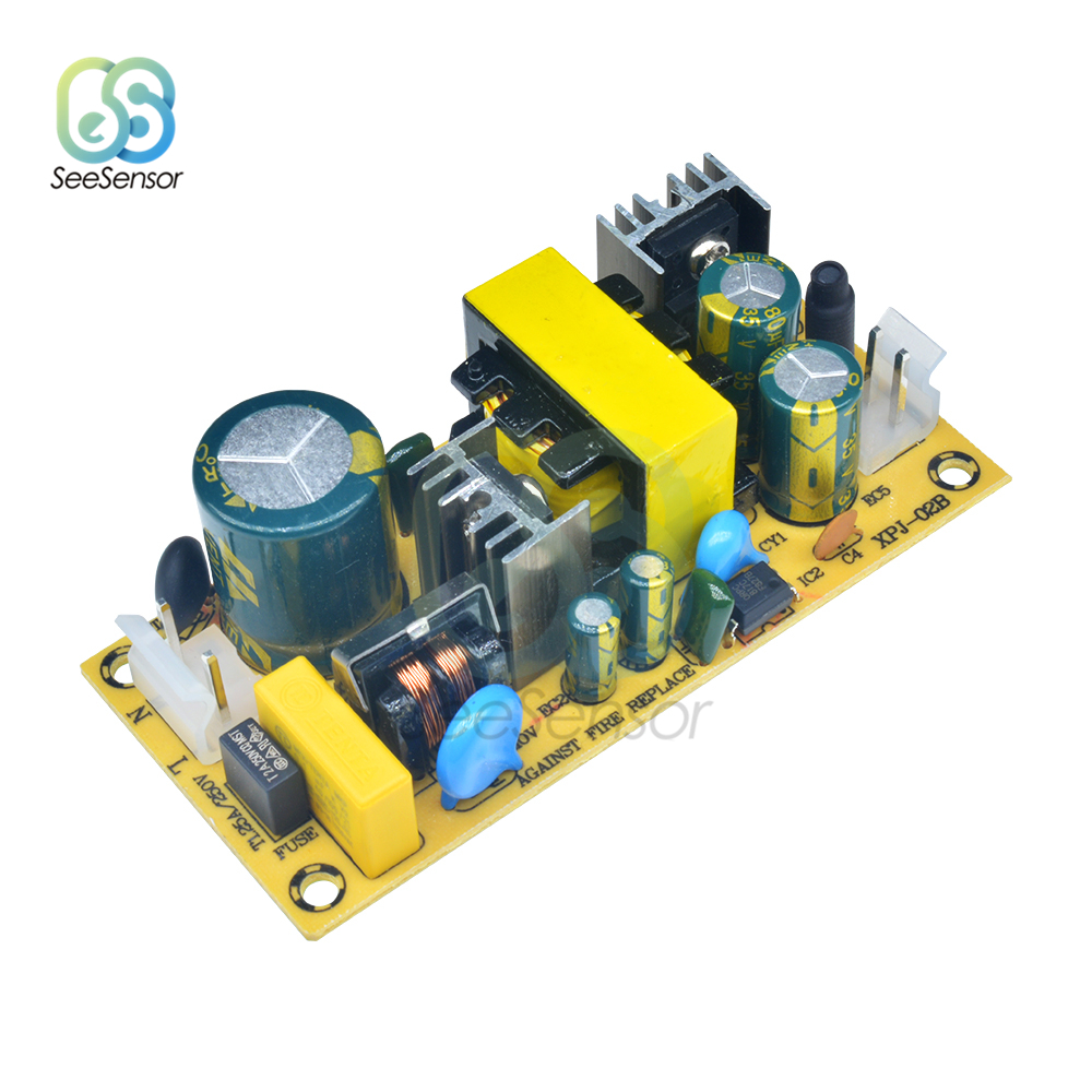 AC-DC 100V-240V to <font><b>12V</b></font> 3A 24V <font><b>1.5A</b></font> Switching <font><b>Power</b></font> <font><b>Supply</b></font> Module Overvoltage Overcurrent Short Circuit Protection DIY Switch image