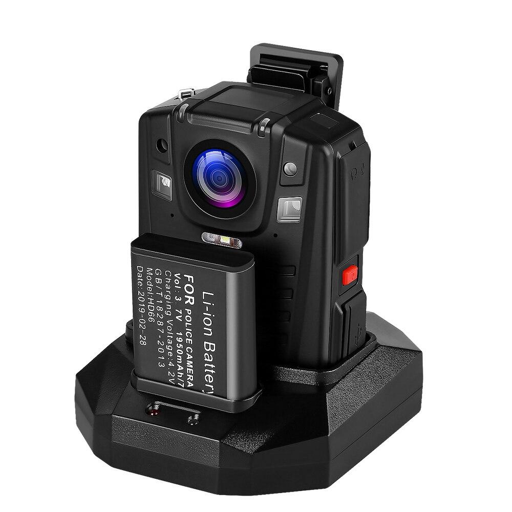 כורסאות טלויזיה BOBLOV HD66-07 גוף משטרת וידאו מצלמת DVR 64GB חוק אכיפת המצלמת 16X זום דיגיטלי 170 מצלמת Wide Angle ראיית לילה כיס (2)