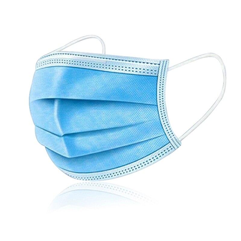 10/20/50/100pcs 3 Layers Mouth Mask Face Mask Men Women Anti Virus Mascarilla Coronavirus Mascherine Tapabocas Respirator