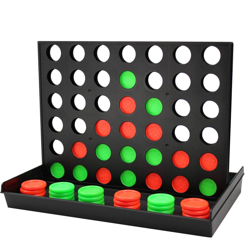 NEW-4 In A Row Game,Line Up 4, Connect 4,Classic Family Toy, Board Game For Kids And Family For Fun