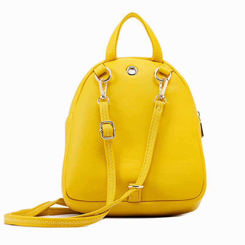 Image 3 - YIZHONG Fashion Luxury Women Backpack Leather MultiFunction Small Backpack Mini Backpack Purse Ladies Shoulder Bag MochilaBackpacks   -