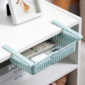 Adjustable elastic organizer for the refrigerator  5