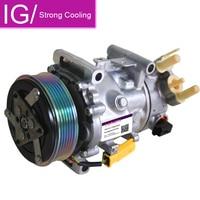 SD7C16 Compressor AC Auto Para Peugeot 407 308 Citroen C5 6453ZT 9671451380 9684141780 6453ZS 648756 351334271 8FK351334271