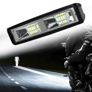 Image 2 - 안개 램프 12 24V 36W 자동 오토바이 트럭 보트 트랙터 트레일러 Offroad 작업 빛 LED 작업 빛 스포트 라이트 LED 헤드 라이트