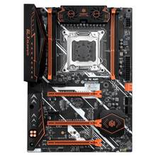 Huananzhi x79 placa-mãe lga 2011 atx usb3.0 sata3 pci-e nvme m.2 suporte 4*16g reg memória ecc e processador xeon e5