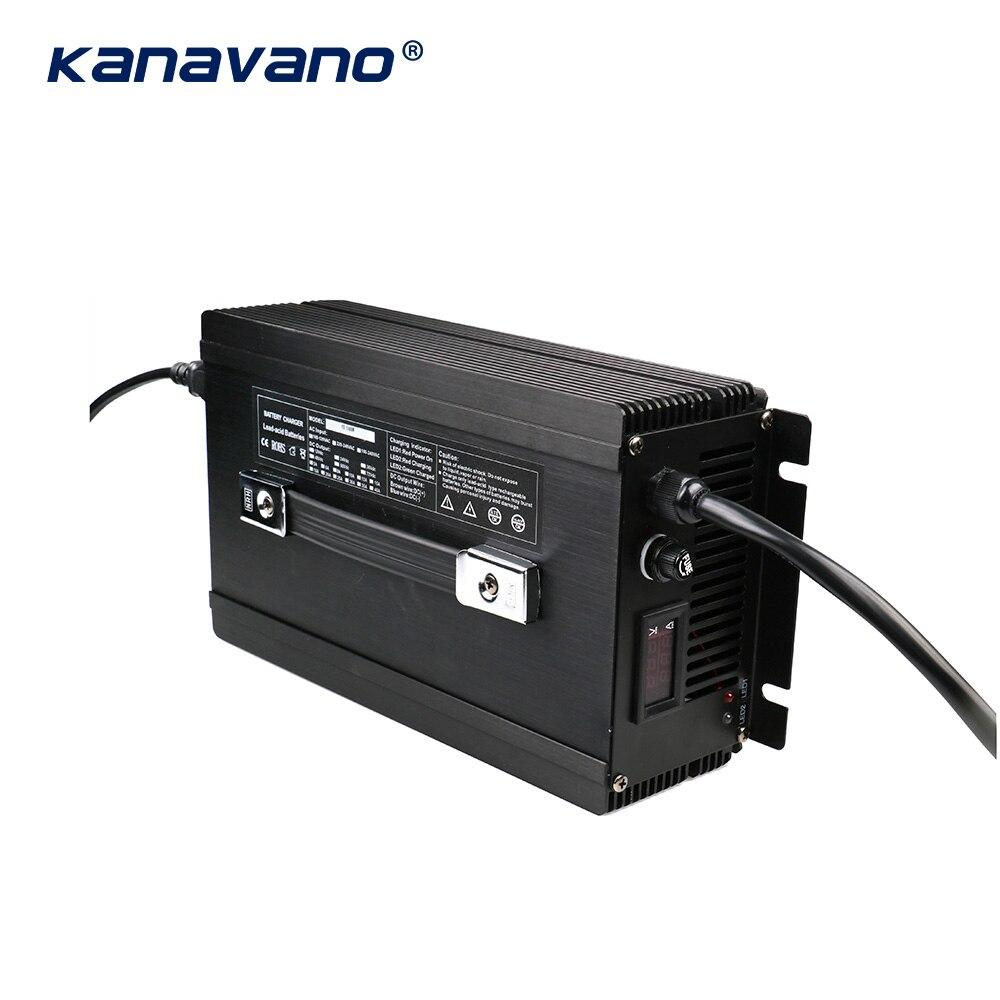 Kanavano nach maß 12v 80a 12,6 V 80A 14,6 V 80A 24V 50A batterie ladegerät 4Serie 1500w für lithium batterie Blei Säure LiFePO4 - 3