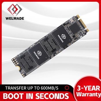 WELMADE SSD M2 128gb 256gb 512gb 1tb 2tb M.2 SSD sata NGFF 2280 internal hard drive for Laptop hard disk 128gb image
