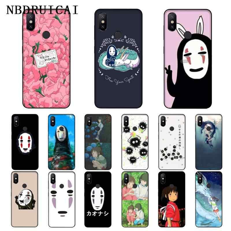 Funda NBDRUICAI de Ghibli Miyazaki, funda de teléfono para Xiaomi 8 9 se 5X Redmi 6pro 6A 4X 7 5plus note 5 7 6pro