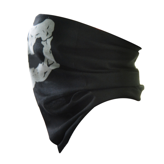 For BMW G650GS F650GS F700GS F800GS/AdventuRe R1200GS Motorcycle Skull Ghost Mask Face Shield Windproof Outdoor Mask Scarf 2