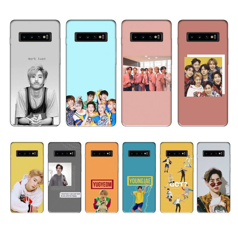 <font><b>kpop</b></font> got7 korean pop luxury brand case <font><b>coque</b></font> fundas for <font><b>samsung</b></font> galaxy S8 S9 S10e S20 <font><b>PLUS</b></font> <font><b>J6</b></font> J600 cases cover image