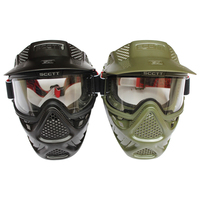 2019New High Strength Military Tactical Paintball Mask Airsoft Mask with Lens Goggle Wargame CS masks Cosplay Hunting Breathable