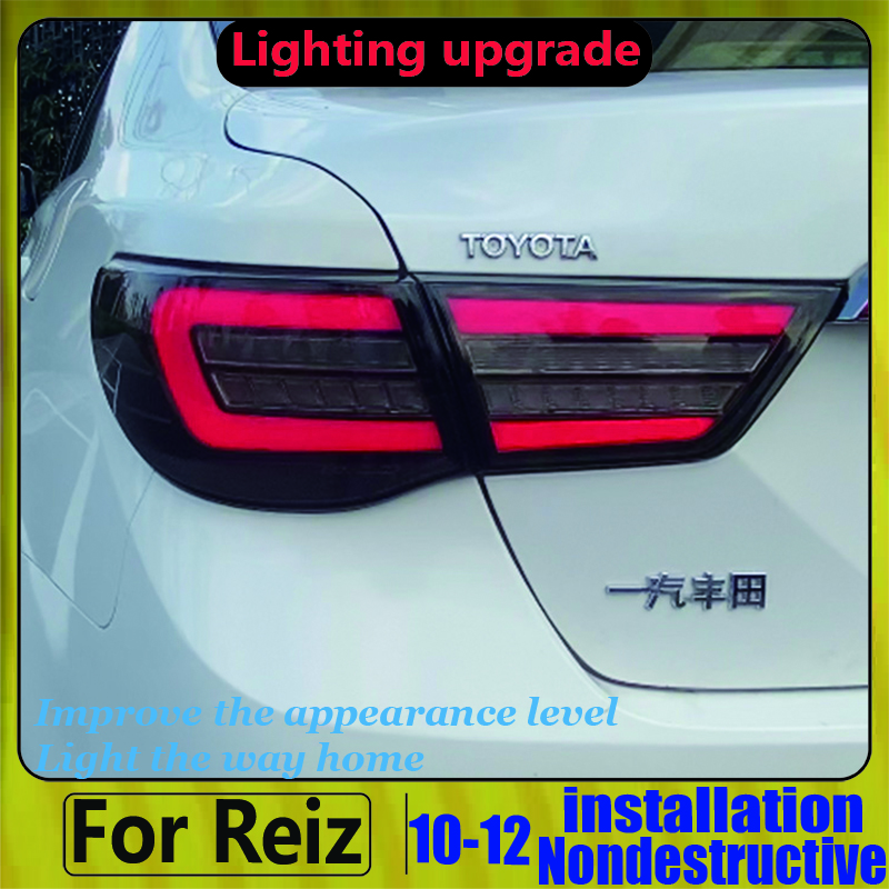 Full Led Rear Light For Toyota Reiz Mark X LED Taillights 2010-2012 Year LED Back Lamp