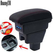 Arm Rest For Suzuki Sx4 2007-2013 Center Centre Console Storage Box Armrest Rotatable 2008 2009 2010 2011 2012(China)