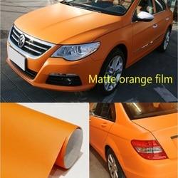 Sub orange vinyl film 10CMx152CM car film motorcycle sticker metal surface film mobile phone film