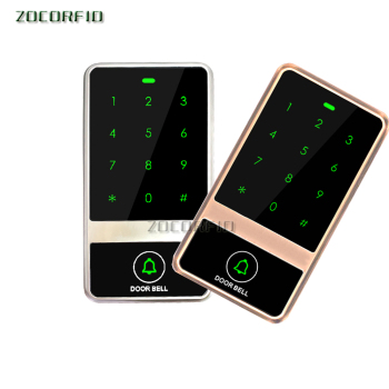 125KHZ Rfid Door Access Control System Metal Keypad Proximity Card Standalone Access Control  support Wg26 reader diysecur 125khz rfid reader password keypad 180kg 350lb magnetic lock door bell door access control security system kit