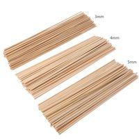 50 나무 식물 성장 지원 대나무 식물 스틱 정원 지팡이 식물 꽃 지원 스틱 지팡이 A69D