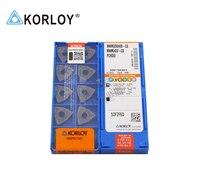 WNMG080408-GS pc9030 100% korloy original carboneto de inserção com a melhor qualidade 10 pçs/lote frete grátis