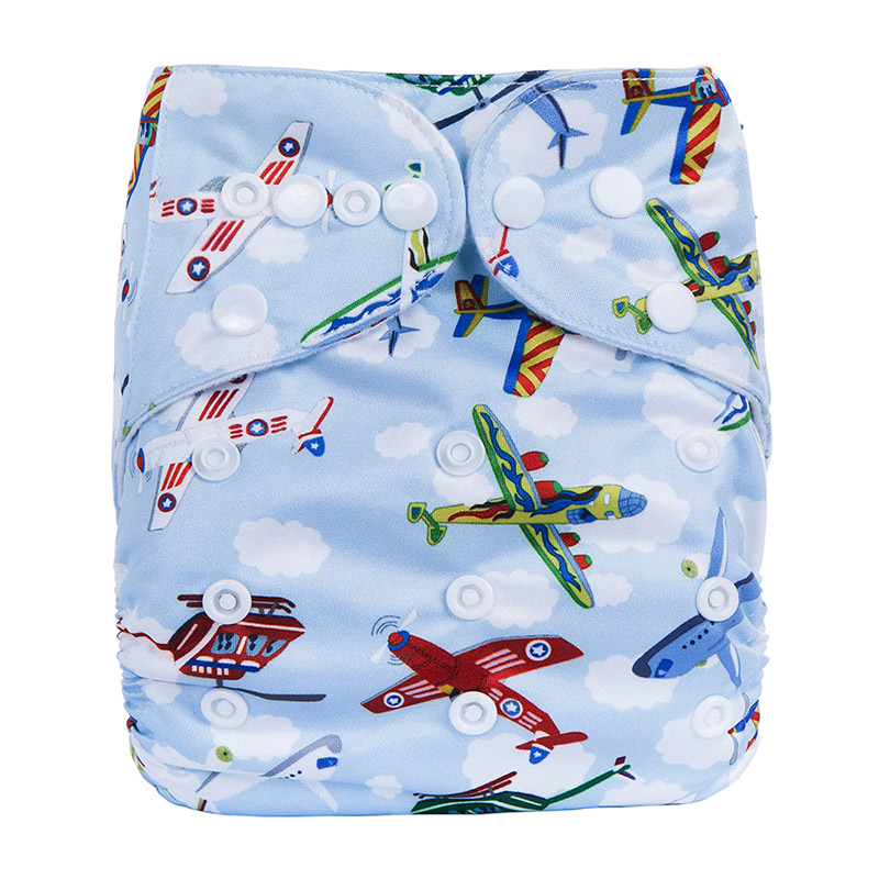 Washable Sleep Baby Cloth Diapers Pants Plastic Reusable Baby Cloth Diaper Without Inserts N18