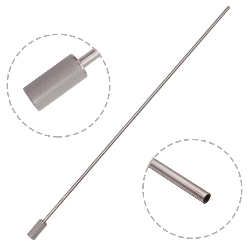 40cm Stainless Steel Aeration Wand 0.5 & 2.0 Micron Homebrew Wort Aeration Fermentation Equipment