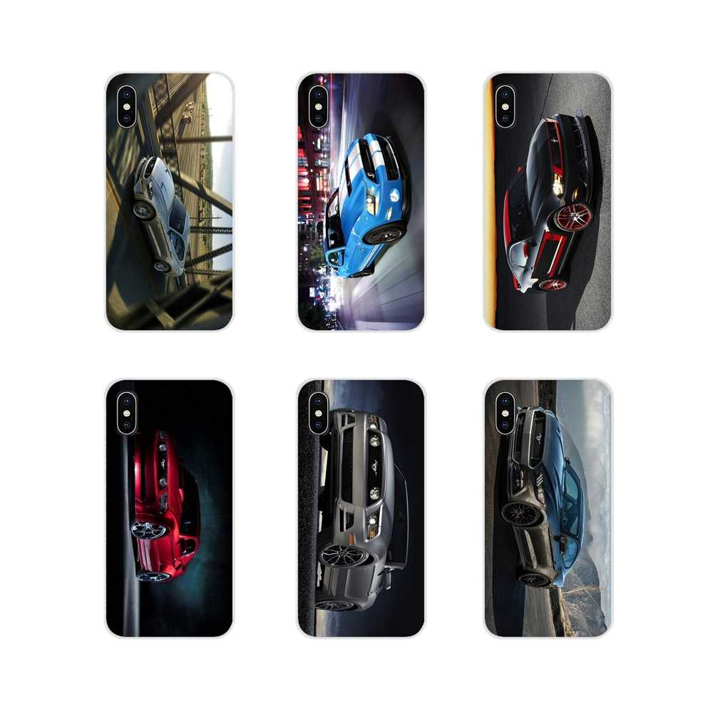 For Xiaomi Redmi 4A S2 Note 3 3S 4 4X 5 Plus 6 7 6A Pro Pocophone F1 Ford GT Mustang Supre Car Poster Silicone Phone Shell Cover