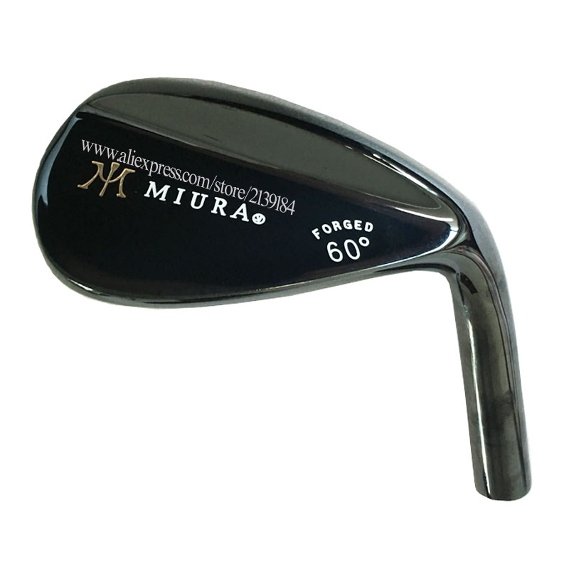 NEW Golf Heads Miura Black Golf Wedges Head Set 52 54 56 60 Loft Clubs Head No Shaft Cooyute Free Shipping