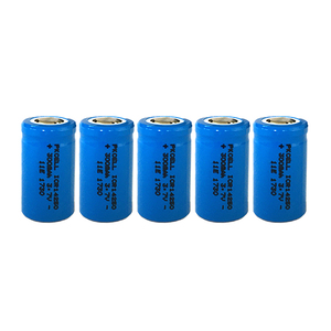 Image 1 - 5PCS ICR14250 1/2AA 300mah lithium battery 14250 3.7v li ion rechargeable batteries for Laser Sight Instrument